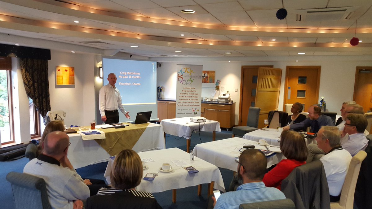 Memorable presentation by Craig from @CheethamJackson tonight #networking @leylandgc<br>http://pic.twitter.com/0GH10uTOMO