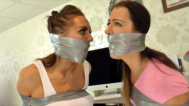 2 young beauties gag and make a mess on dick 6