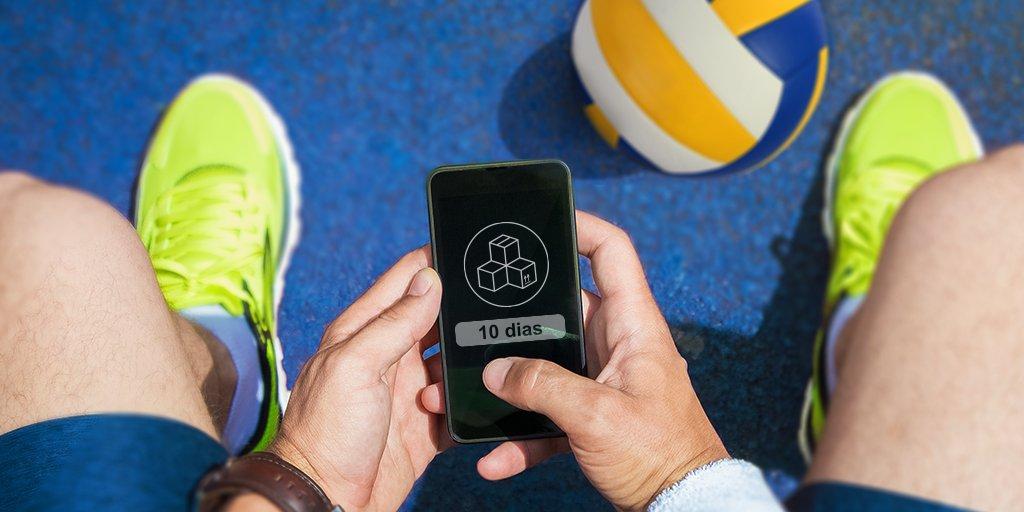 Está chegando a hora, falta pouco. Em 10 dias, os esportes estarão no @BancodoBrasil. Vamos nessa?