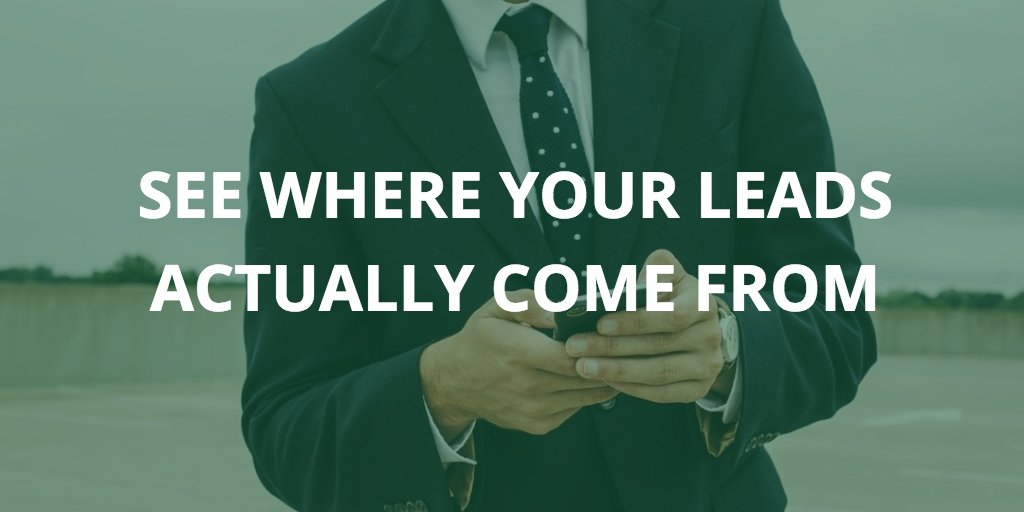 There&#39;s no excuse for not knowing where your web #leads come from:  https:// buff.ly/2wjRaoQ  &nbsp;   via @grigoriy_kogan #marketing<br>http://pic.twitter.com/SEeAkusb5P