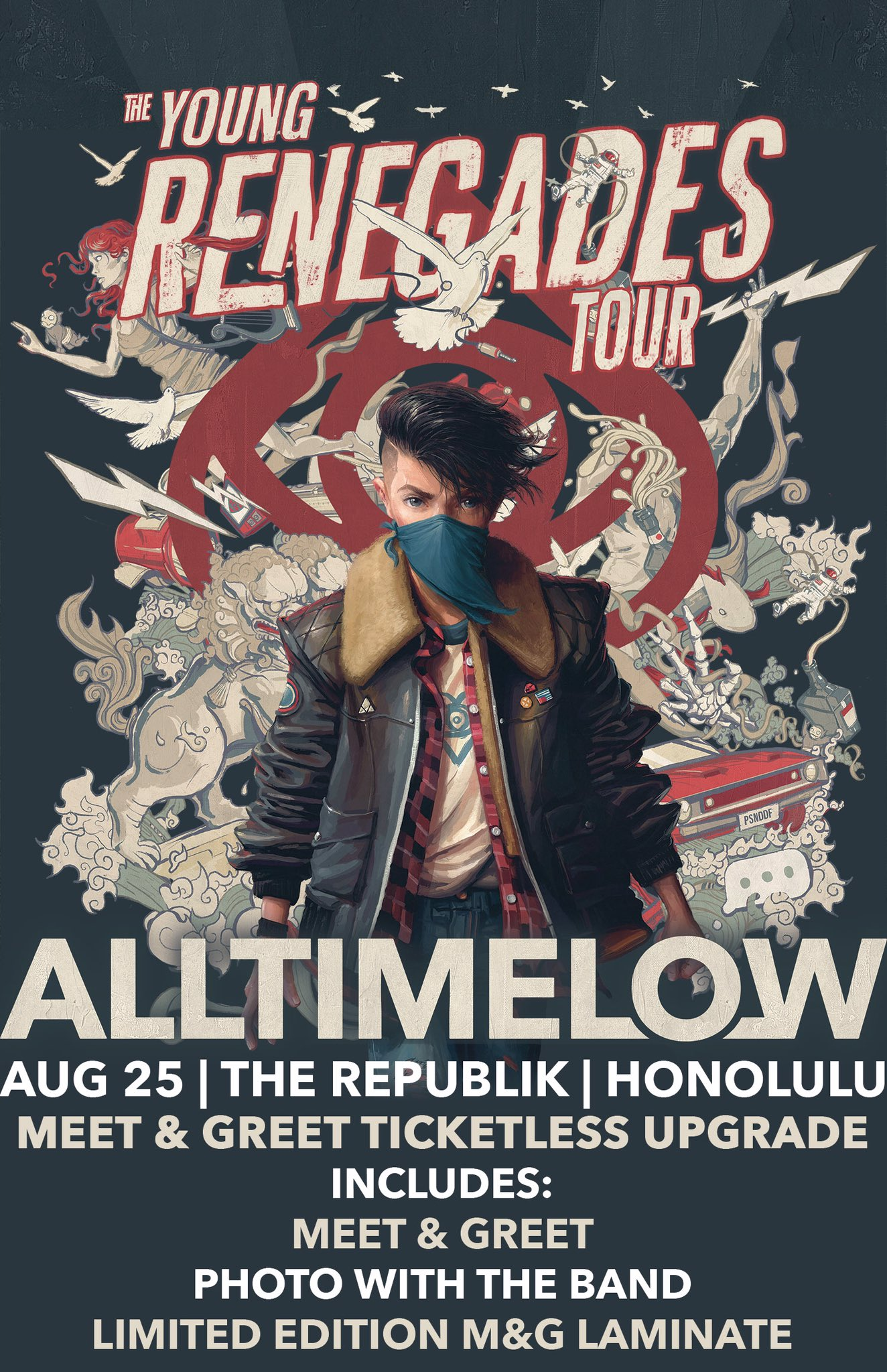 All Time Low On Twitter Ticketless Meet Greet Upgrades Are