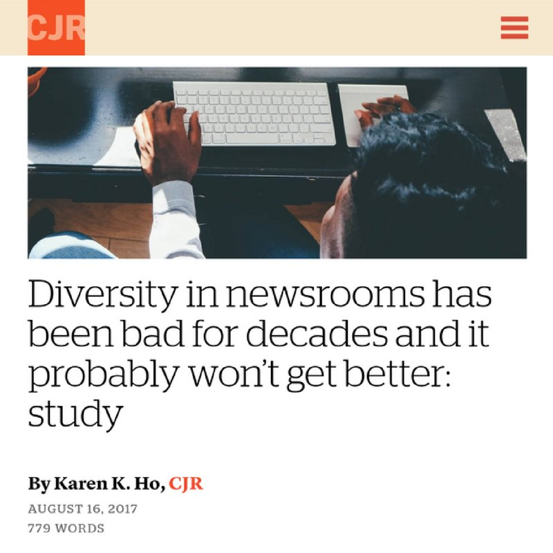 Congratulations to our @aajavoices students! Their work was recently featured on the @CJR website! Read here:  http:// bit.ly/2v0Bgjm  &nbsp;   #media <br>http://pic.twitter.com/Nc6BD6QC2n