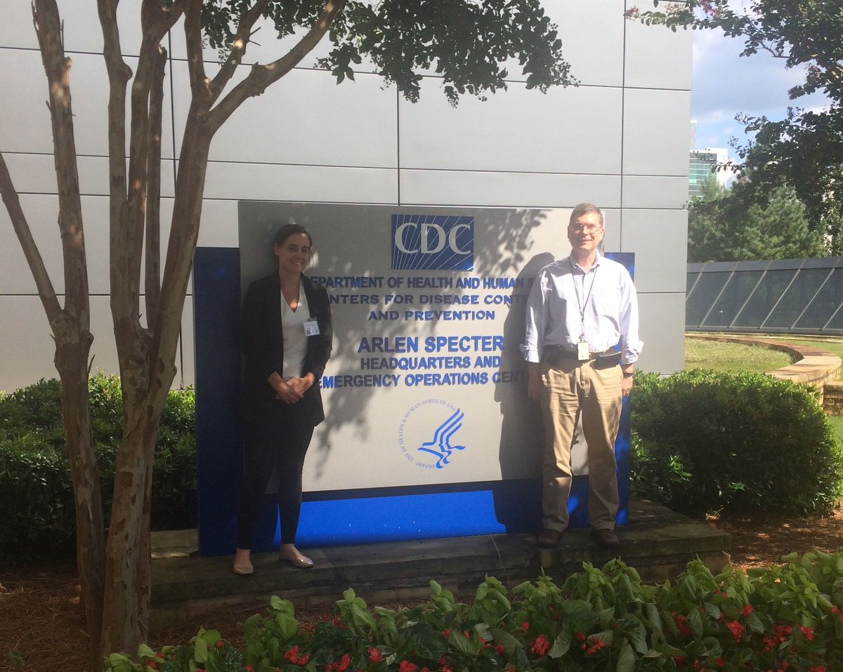 Alex Rowe @CDCgov, HQSS @CatArsenault working on a review on #quality. Follow our twitter feed to hear more about their findings! @CDCGlobal<br>http://pic.twitter.com/NcboS3pSVv