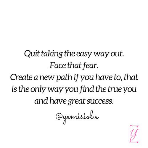 Don&#39;t take the easy way out- it only leads to…  http:// dlvr.it/Pgw0N1  &nbsp;   #womeninbusiness #bosslady #smallbusiness #solopreneurs #lifestyle<br>http://pic.twitter.com/2raNMqOg7q