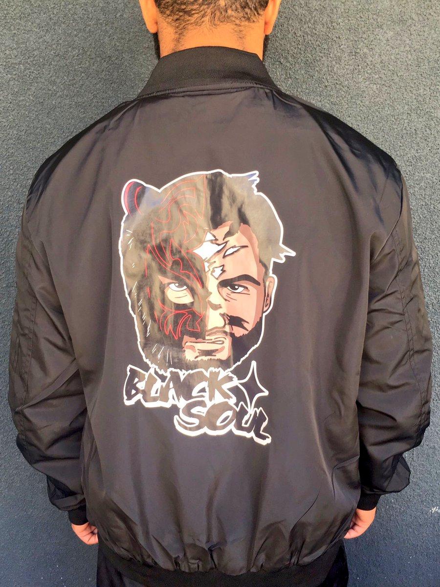 Black Tiger Soul Bomber Jackets up now on