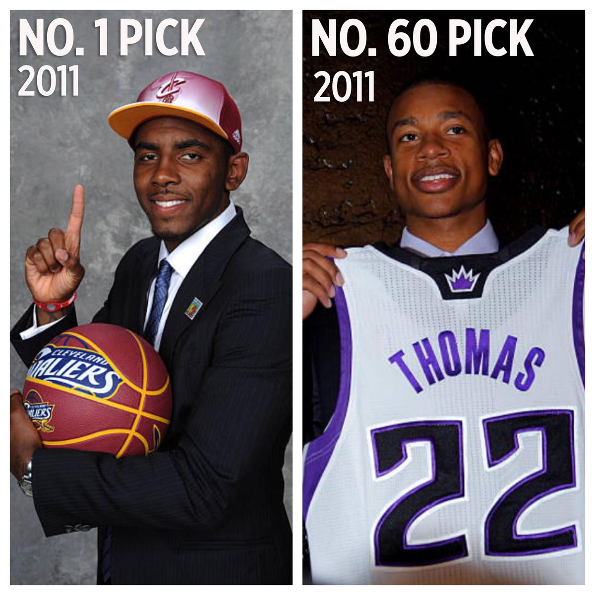 The 1st player of the 2011 draft was just traded for the last player in the SAME DRAFT.