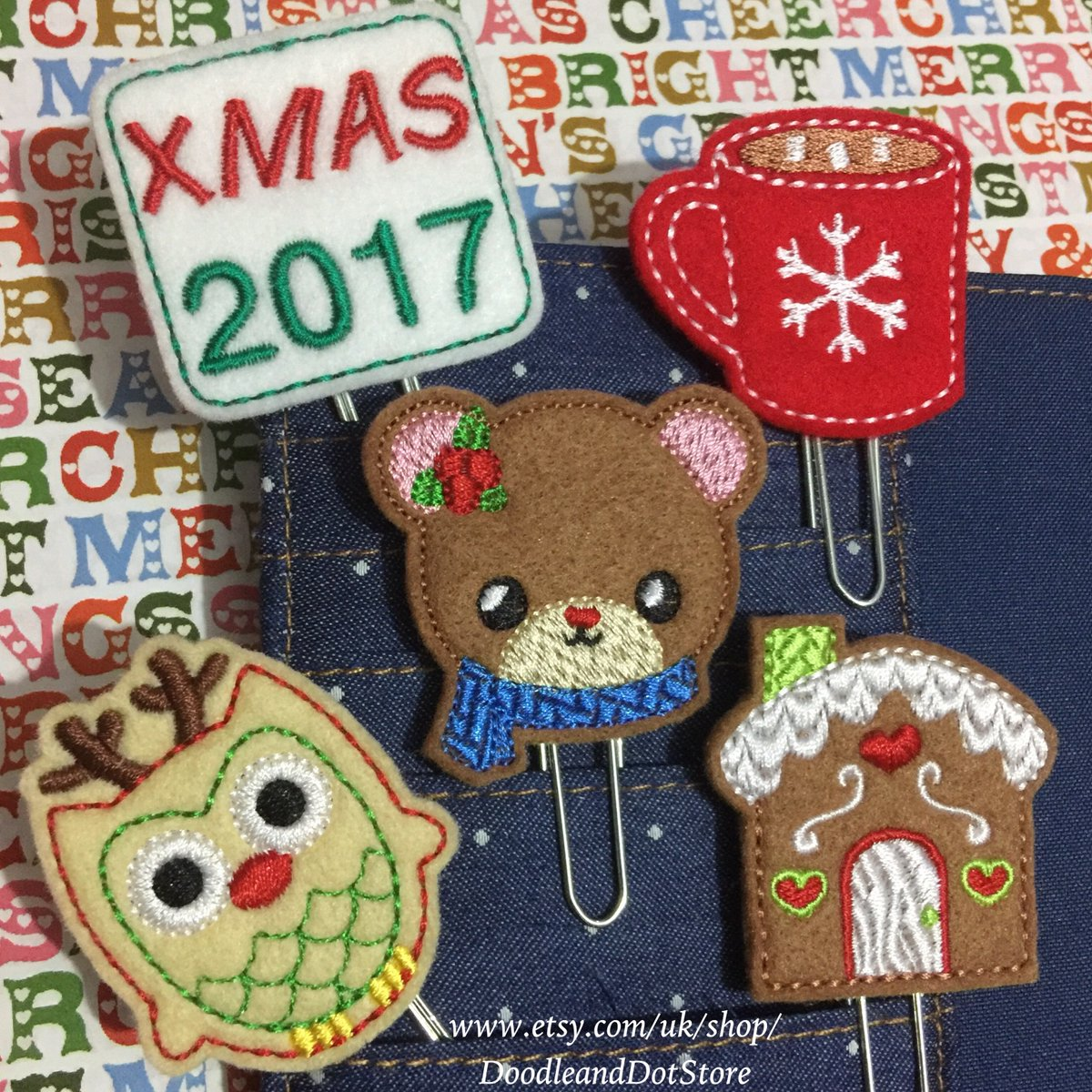 Festive Planner clips available here   http:// ow.ly/QUI730doosQ  &nbsp;   #planner #plannerclips #etsy #journal #smallbusiness #craftbuzz #stationery<br>http://pic.twitter.com/ky1pIdihRh
