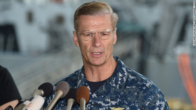 US Navy to remove commander of 7th Fleet after second US destroyer collision in just over two months, official says https://t.co/YdcV6mQvvV