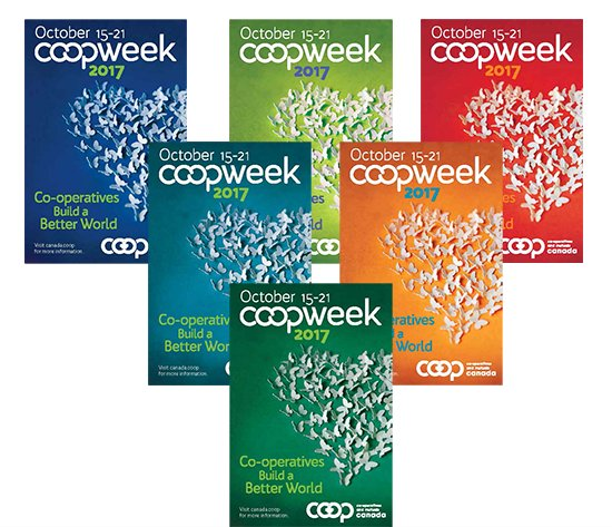 Co-op Week 2017 is October 15-21! #coop150 #canada150    Co-operatives Build a Better World!    http://www. tinyurl.com/y9ekvuw7  &nbsp;  <br>http://pic.twitter.com/N1C4RGPoGd