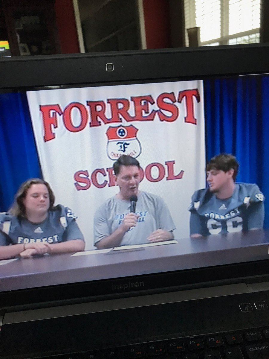 Tate and Dylan Kidd on the Tennessse Sports Net live broadcast with Troy Cashion. Go Rockets 🚀