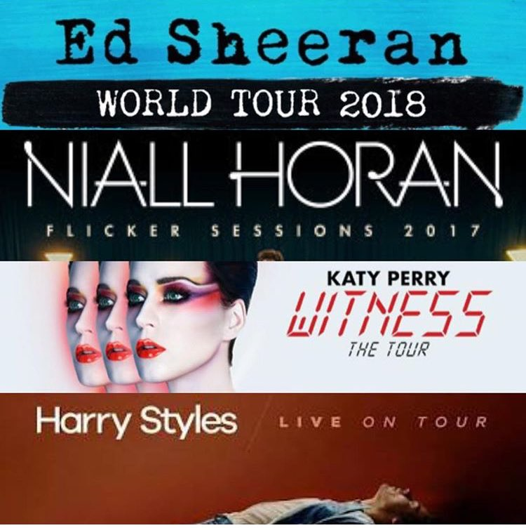 Who would you pick @NiallOfficial in #Miami, @katyperry in #Vegas @Harry_Styles in #London or @edsheeran in #Dublin! #TheKIISWorldMusicTour<br>http://pic.twitter.com/XDrEQbOEV7