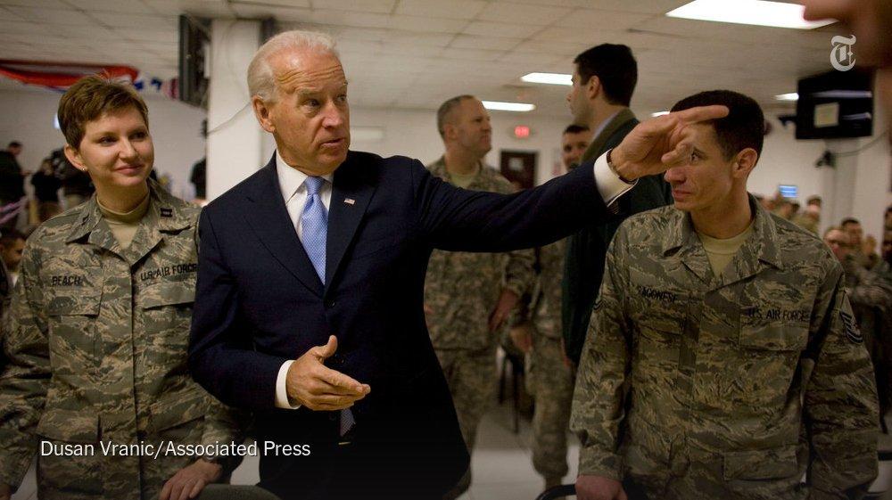 The forerunner of President Trump's plan for Afghanistan: Joe Biden's https://t.co/Vxbl23HeUP via @MarkLandler