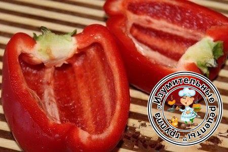 Фаршированный перец рецепт фото