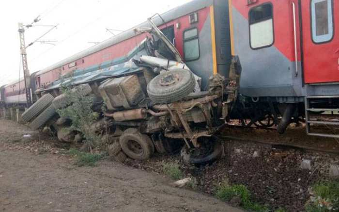 At least 70 people injured after a train derailed in Uttar Pradesh, northern India, early Wednesday: local media