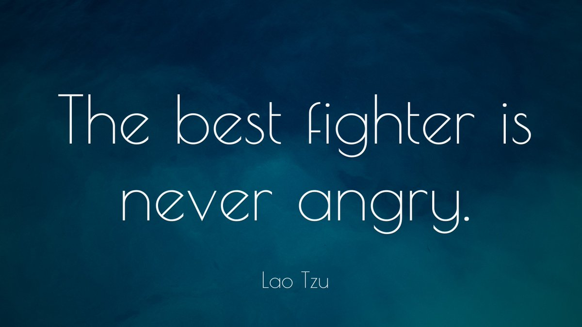 #WednesdayWisdom: The best #fighter is never angry! :-) #Mauritius @RespectYourself<br>http://pic.twitter.com/EueN4Q3fP4