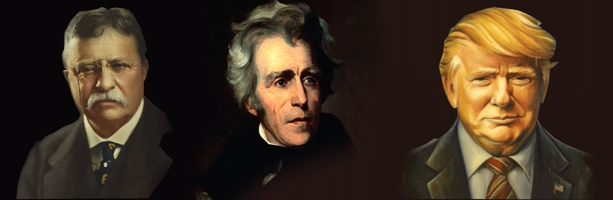 &quot;Teddy Roosevelt&quot; George Washington, Thomas Jefferson, Andrew Jackson  DONALD J TRUMP  #Men #GreatMen #GreatPresidents #PhoenixRally<br>http://pic.twitter.com/P9UxSzy6aq