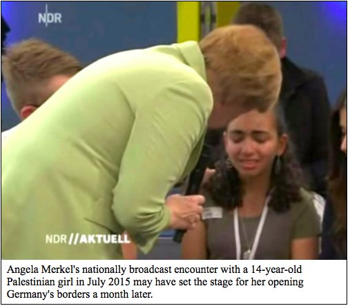 I ponder &quot;#Merkel&#39;s historic folly&quot; in an interview for the #German website, @Achgut_com. Here&#39;s the English version: http://www. danielpipes.org/17882/merkel-h istoric-folly &nbsp; … <br>http://pic.twitter.com/Ffa4ZoiSvP