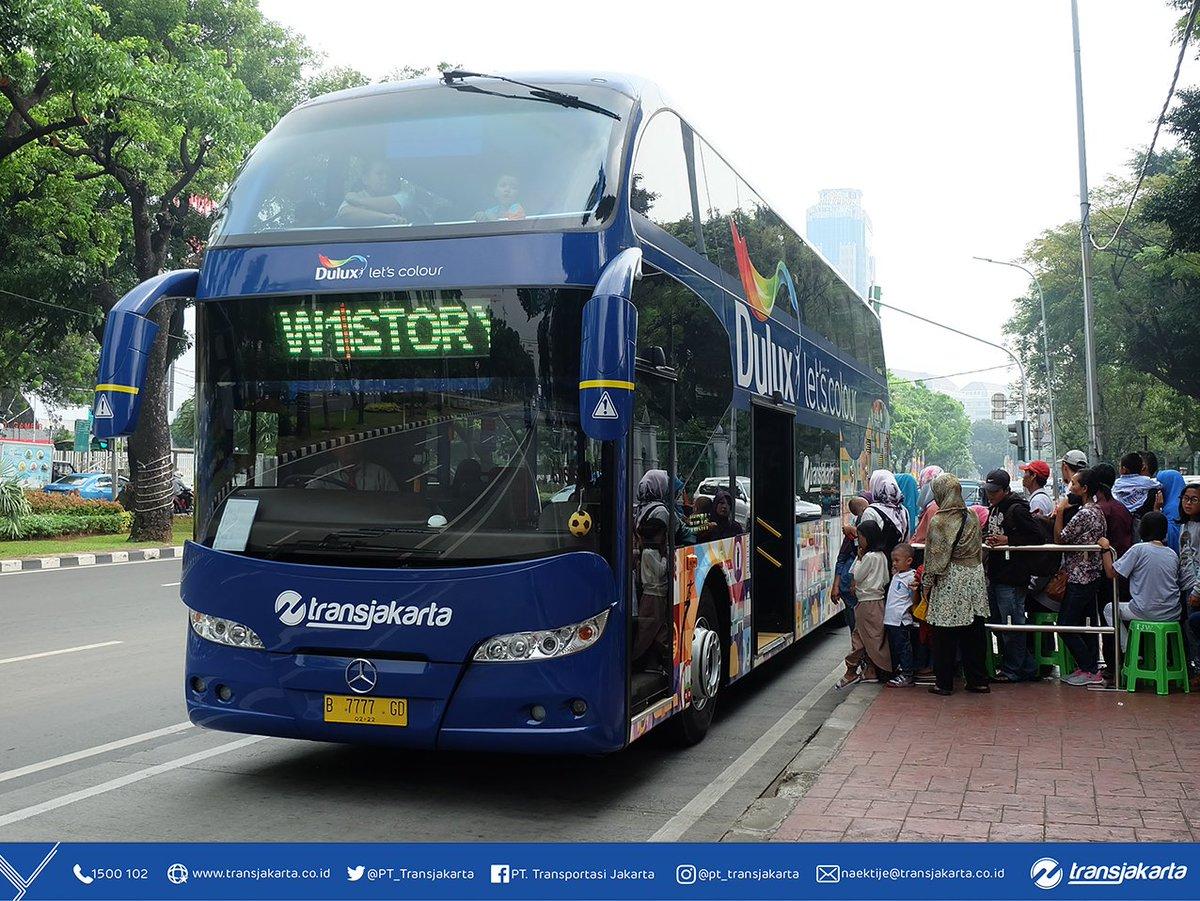 """Ο χρήστης Transportasi Jakarta στο Twitter: """"Para pelanggan dapat"""