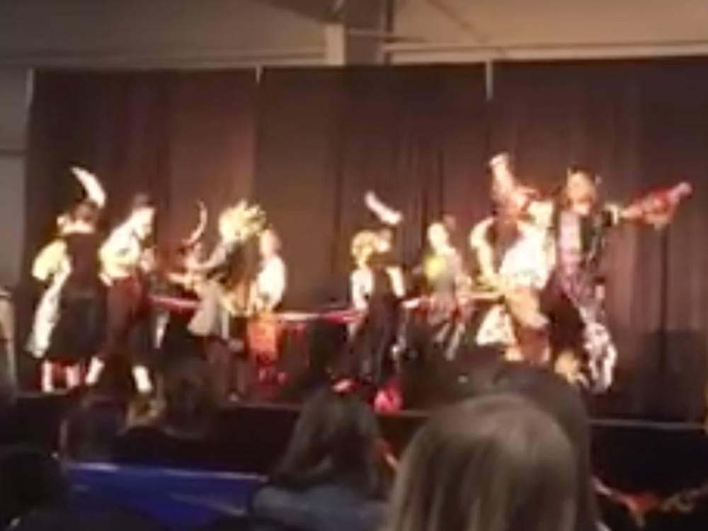 'There wasn't honour in that': Indigenous dance at Ukrainian pavilion inappropriate but opens a dialogue, sisters... https://t.co/dwuB7quori