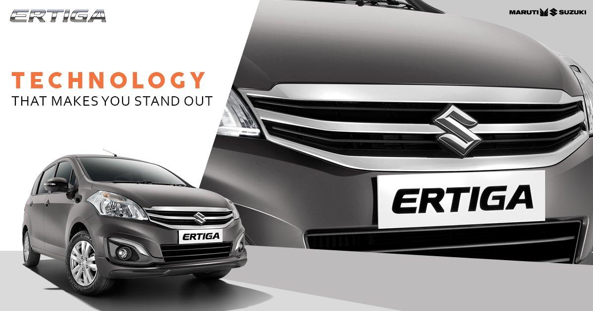 Uplift your style factor with the Luxurious Chrome Grille of Maruti Suzuki Ertiga. #TogetherWithErtiga https://t.co/9OIzq7s7KJ