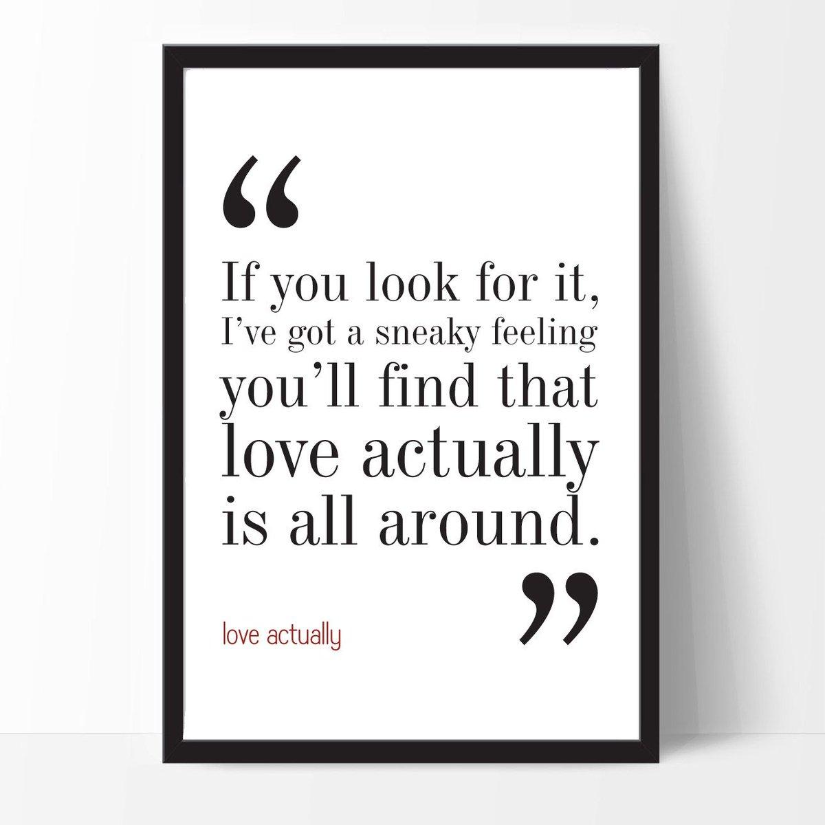 Love Actually Movie Quote. Typography Print. 8x10 on A4 Archival Matt…  http:// tuppu.net/3faa7841  &nbsp;   #WallDecor #LoveQuote <br>http://pic.twitter.com/zubzcENjPj