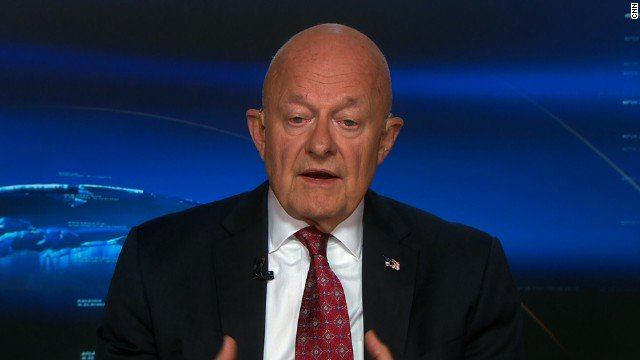 James Clapper, former national intelligence director, questions Trump's fitness for office. Watch speech reaction: https://t.co/ltOn6zeTH5
