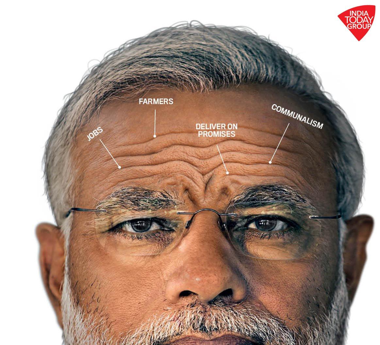 PM @narendramodi's lines of worry.  #IndiaTodayMagazine #ModiNation https://t.co/Cf7c7Cs5EP