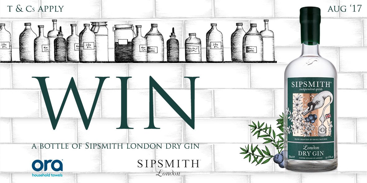 FOLLOW &amp; RT for the chance to #WIN a @sipsmith prize! #Competition  By entering, you agree to our T&amp;Cs (18+ Only):  http://www. ora-friends.com/competition.ht ml &nbsp; … <br>http://pic.twitter.com/1BNcLSEi8C