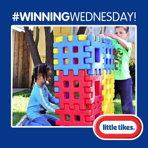 It&#39;s #WinningWednesday! Follow and RT for your chance to #WIN a set of Big Waffle Blocks. #Competition ends: 23/08/2017 at midnight. <br>http://pic.twitter.com/0gscZrINrG