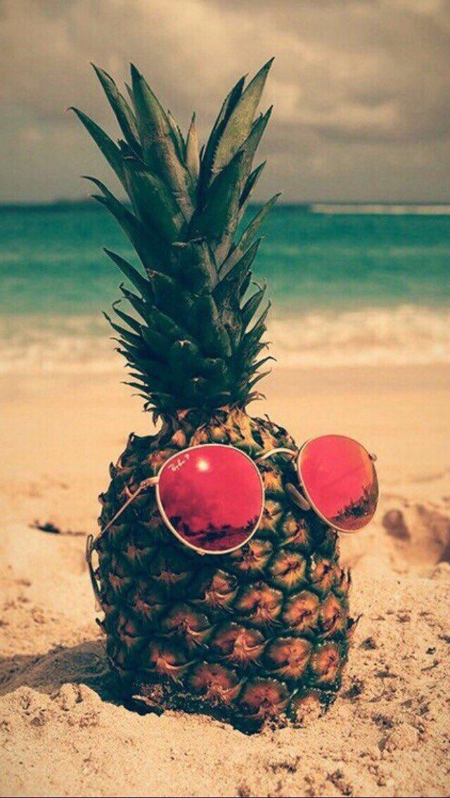 Прикольные картинки ананасы