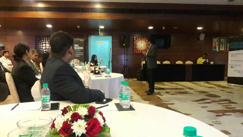 Future of #employeeexperience will be driven by #bot &amp; digital assistants, personalizing the experience, says @ravishanks,on #HRTech trends.<br>http://pic.twitter.com/nlhdxUsAIH