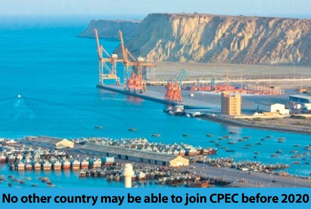 #Pakistan and #China are unlikely to welcome other countries to become part of #CPEC before 2020   https:// tribune.com.pk/story/1488593/ no-country-may-able-join-cpec-2020/ &nbsp; … <br>http://pic.twitter.com/5KQuIJyJz9