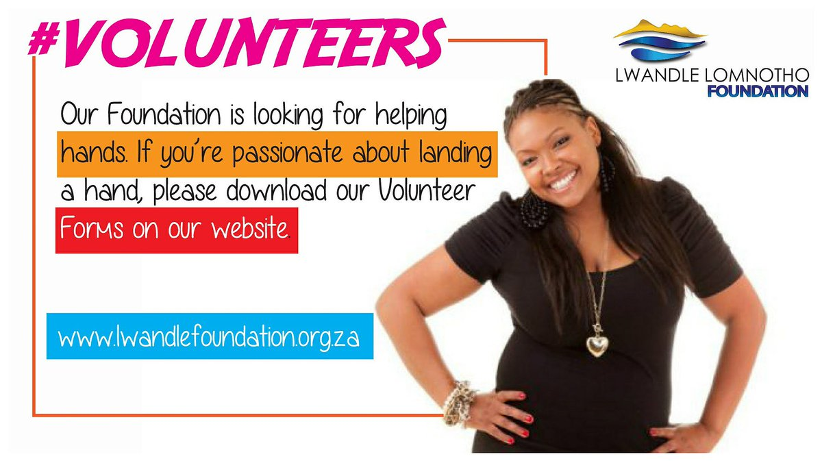 My #NGO Lwandle Foundation needs #Volunteers  #ForTheChildren #SchoolsProject #RuralDevelopment  #Register here:  http://www. lwandlefoundation.org.za  &nbsp;  <br>http://pic.twitter.com/ZMFHfN5Hu6