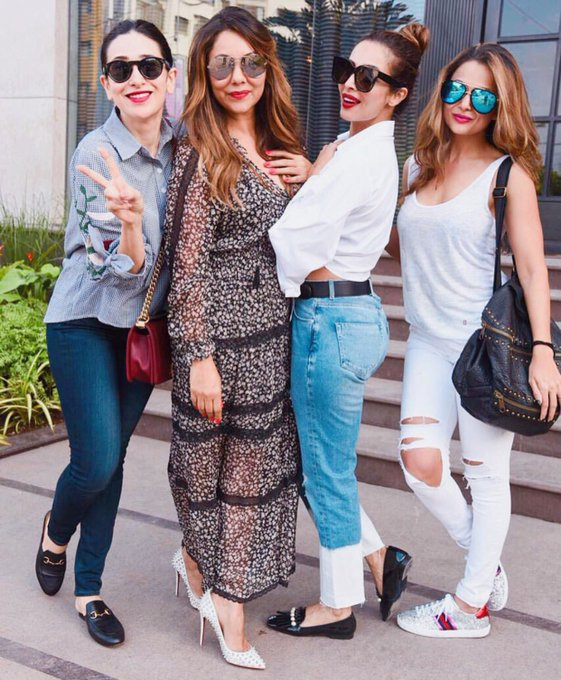 Thank you Karishma, Malaika and Amrita for dropping by! Glad you liked the #GKD store... https://t.co/WT1lbJqc99