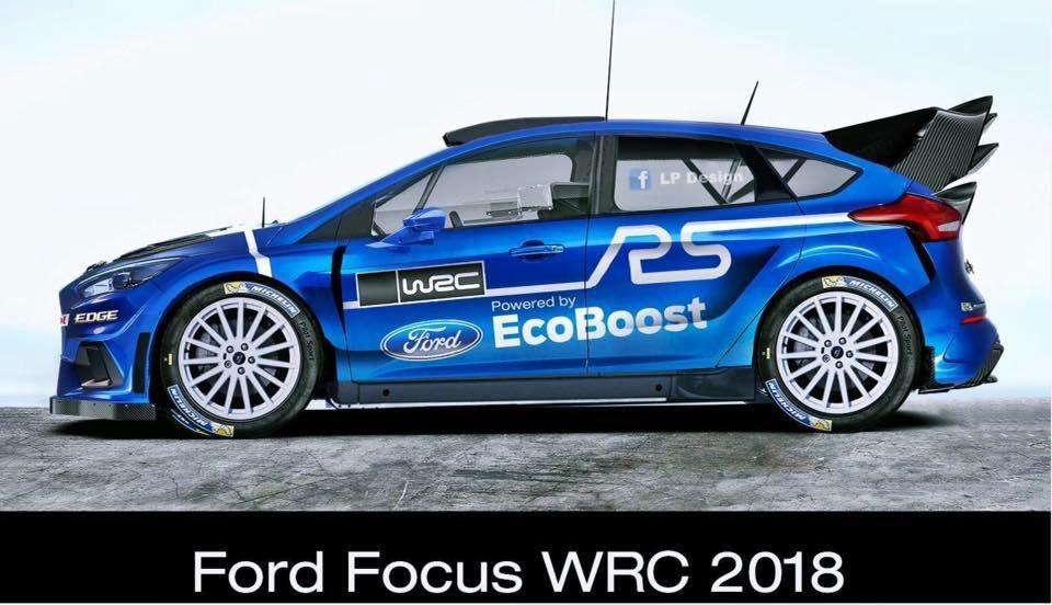 "BILLIOT Jérémie on Twitter: ""#WRC #2018 #dream **NOT OFFICIAL** Ford Focus Wrc #fordback…"
