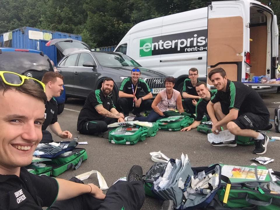 Yesterday, I was doing #Logistics for @ManchesterPride Brilliant team! Lots of fun and we got the job done! @stjohnambulance #mysjaday<br>http://pic.twitter.com/LHqhqjIUt5