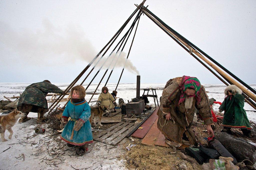 Народы крайнего севера в картинках
