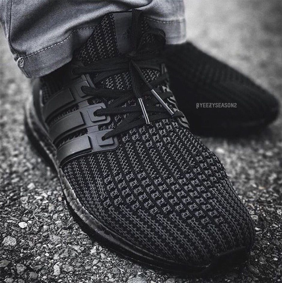 8a518818acc56 Triple Black Ultra Boost 4.0s or Ultra Boost-inspired NMDs   http   snkrne.ws 2v8aX78 pic.twitter.com dEX2ELSfXu