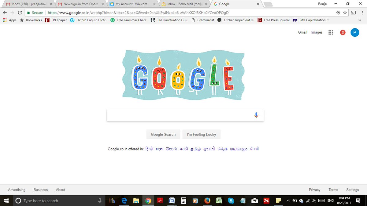 Google knows my birthday. I don&#39;t know whether to be happy or scared.  #birthday #GoogleDoodle <br>http://pic.twitter.com/1E5BEq94Jx