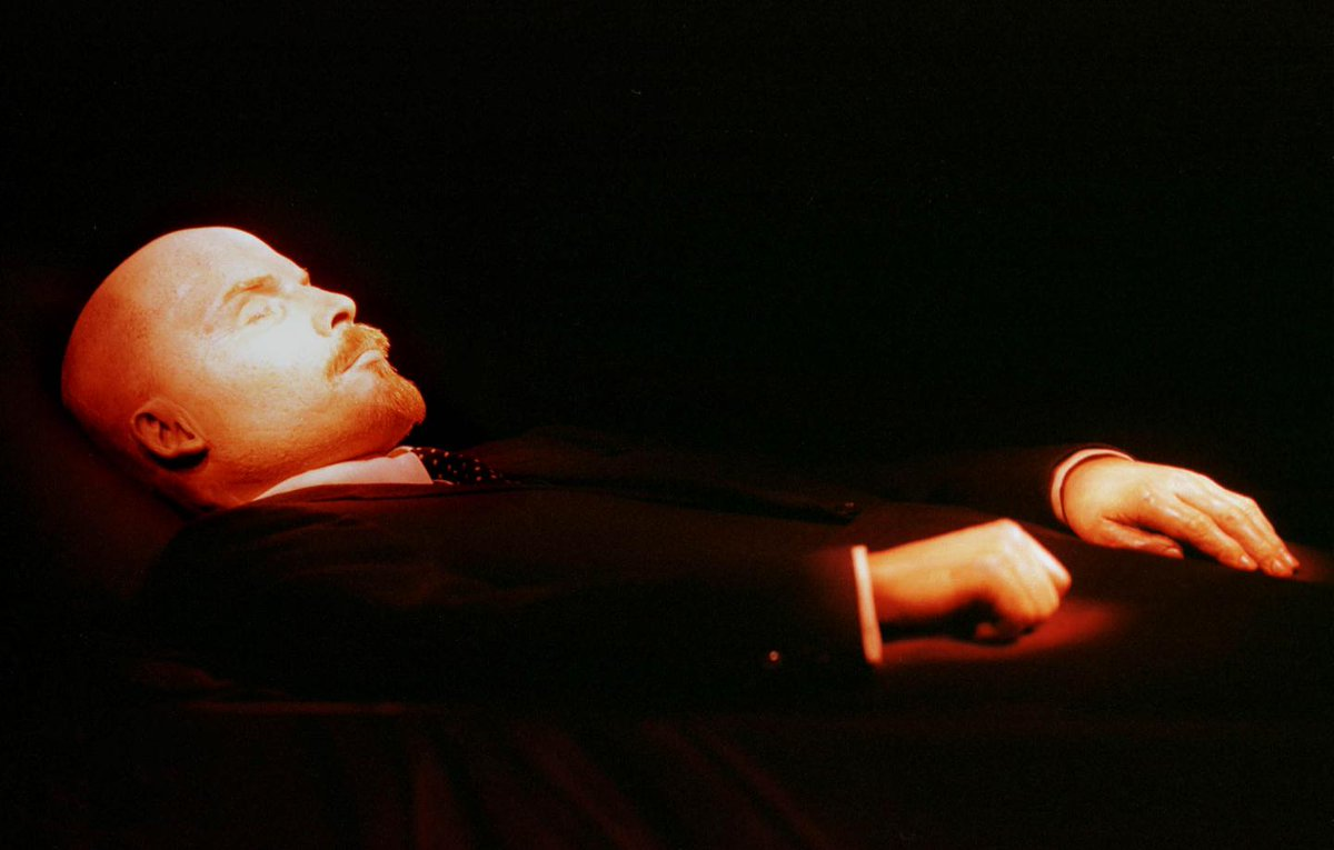 Why Putin keeps Lenin's corpse on show in the Kremlin | Opinion https://t.co/71pSBjHT1y