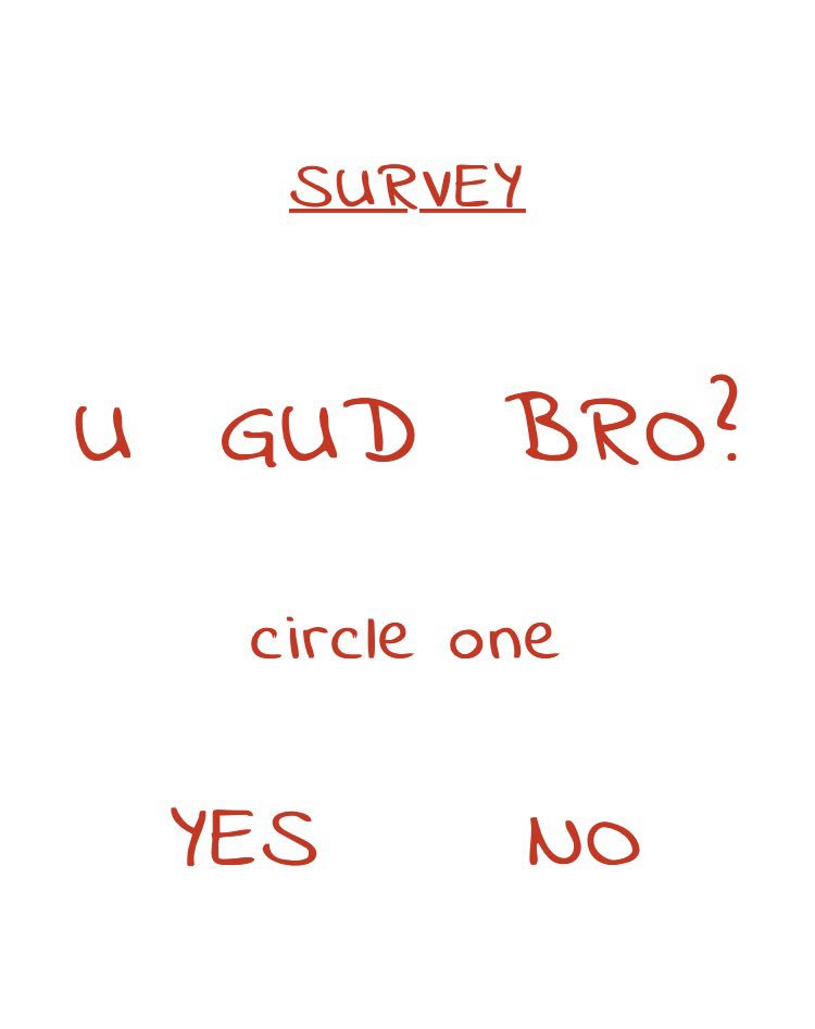 how to make a good survey