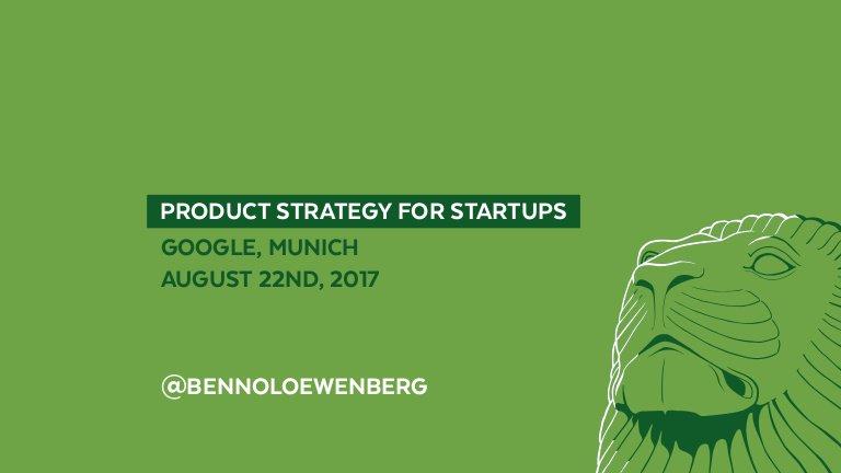 The slides of my talk #ProductStrategy for Startups now online:  http:// j.mp/2v4dSBU  &nbsp;    #GoogleLaunchpad #ProductMarketFit #MVP #Lean #JTBD<br>http://pic.twitter.com/UjRaxAbIRh