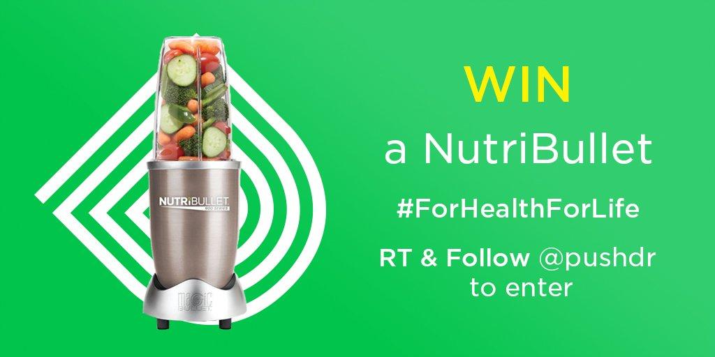 Mix up your diet  RT &amp; Follow to #WIN this NutriBullet Blender  http://www. pushdoctor.co.uk/twitter  &nbsp;        #WellnessWednesday #Competition Winner @ 9 tmrw <br>http://pic.twitter.com/vECYM6BGHk