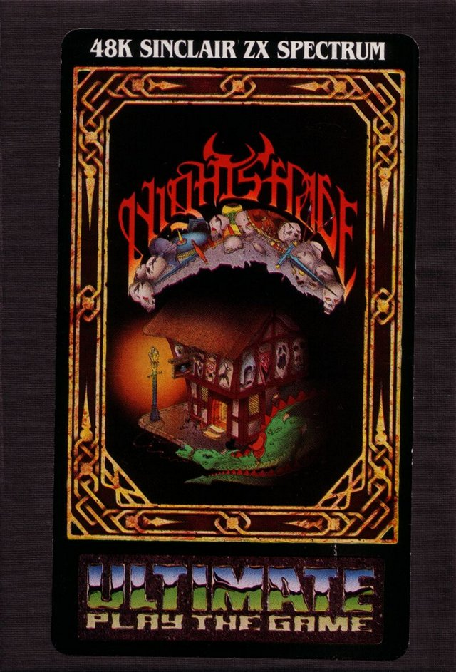 Gaming Memory!   Title: Nightshade Publisher: Ultimate Play The Game Platform: ZX Spectrum Year: 1985  #retrogaming #gamersunite <br>http://pic.twitter.com/FfamR1ELg1