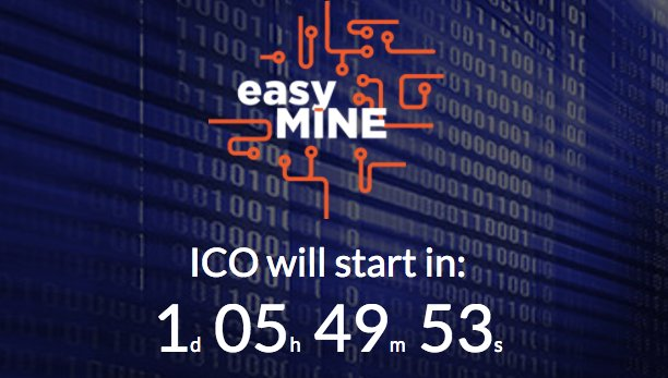 Only 1 day left !!!!! #ico #eth #ethereum #btc #bitcoin #startico #easymineico #easymine<br>http://pic.twitter.com/xsULl072oK