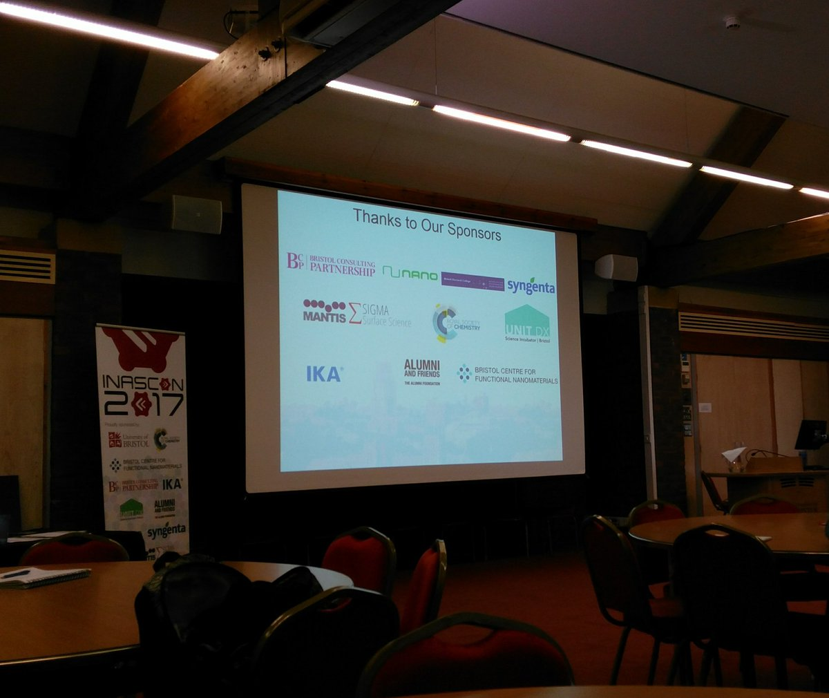 Today we&#39;re @INASCON17 looking forward to some interesting talks #inascon17 #conference #Bristol<br>http://pic.twitter.com/NJVZCAdYHy