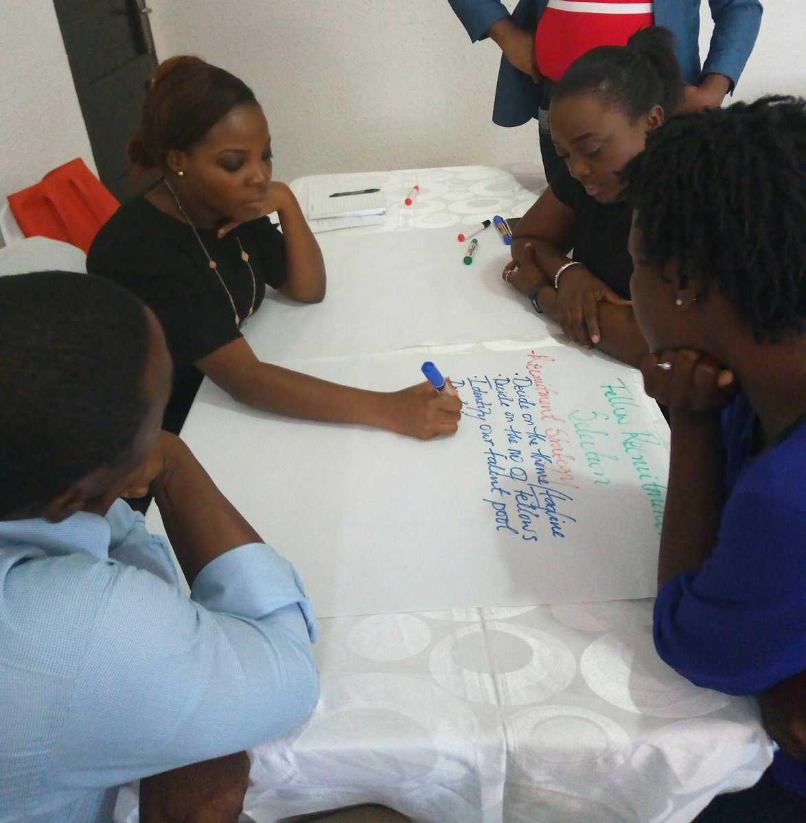 1st activity for the day: Unpacking @Teach4Nigeria intervention #Monitoring #Evaluation #Education #BeginningWithTheEndInMind<br>http://pic.twitter.com/k1UHf80tvi