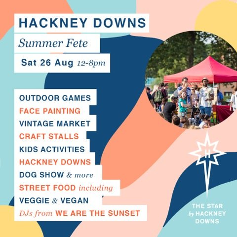 It&#39;s nearly here! This Saturday on Hackney Downs Park. Great food. Great music. It&#39;s great fun @StarbyHD #Foodie #music #plants #yoga #fun<br>http://pic.twitter.com/Npqy1LVjnP