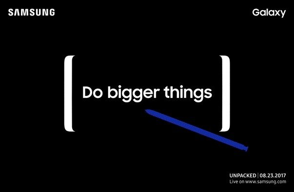 Watch Samsung's Galaxy Note 8 livestream at 11AM ET https://t.co/NYHtLObu03