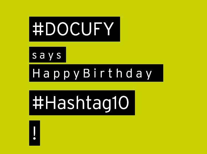 #DOCUFY says #HappyBirthday #Hashtag10  #TechDok #TopicPilot #COSIMA #wehire #Digitalisierung #followusontwitter <br>http://pic.twitter.com/eE4uyxKIHz